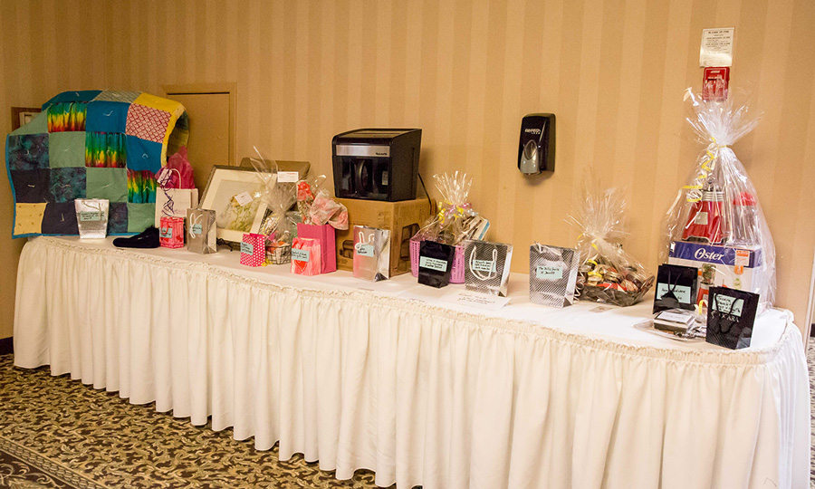Draw Prize Table
