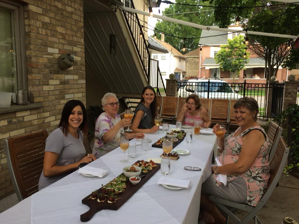 Ladies Night Out on the Patio at sixthirtynine